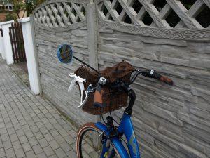 lusterko rowerowe AJS długie ramię